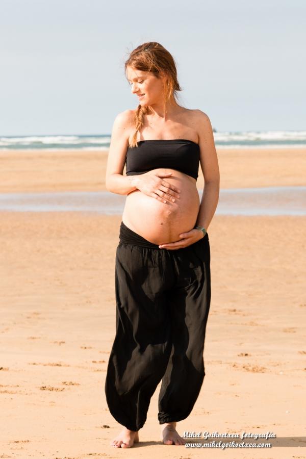 fotografía embarazo Castro Urdiales Cantabria Bilbao Bizkaia